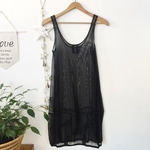 🇨🇦 SYMPLI || sheer mesh over under dress